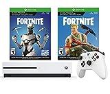 Xbox OneのS Fortniteバンドルを所有し、最後の1つになるために戦いましょう。このバンドルには、Fortnite Battle Royaleのダウンロードに加えてEonの化粧品セットのダウンロードと2,000個のVドルが含まれています。 さらに、付属のXbox Game Pass 1ヶ月トライアルで100以上のゲームにすぐにアクセスできます。 (ゲームにはXbox Liveゴールドが必要です。サブスクリプション1ヶ月のトライアルが含まれています。) Xbox One SのFortn...