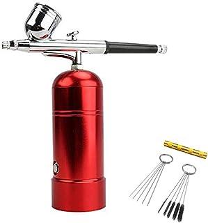 mini kit aerografo compresor aerografo pistola de pulverización de kit de carga usb para aerografos reposteria,modelismo,Pastel de spray,artes de uñas