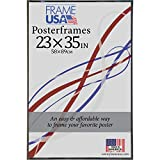Frame USA Foamcore Series 23x35 Poster Frames (Black) | Choose Color and Size