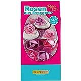 Dekoback Esspapier-Rosen, 8er, lila u. rosa -