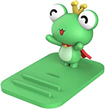 Frog Phone Holder - Adjustable Stand - Lovely Animal Desktop Cell Phone Stand, Creative Cartoon Multi-Function Desk Phone Stand, Smartphone Dock,Frog Gift for Girl (Green Frog, 17 X 8 X 5 cm)
