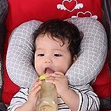 AIPINQI Anti-Flach-Kopfkissen, 2 in 1 Baby-Kopfstützkissen für Kleinkinder, Reisekissen,...
