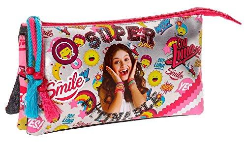 Disney Soy Luna Smile Beauty Case da viaggio, 22 cm, 1.32 liters, Multicolore (Multicolor)