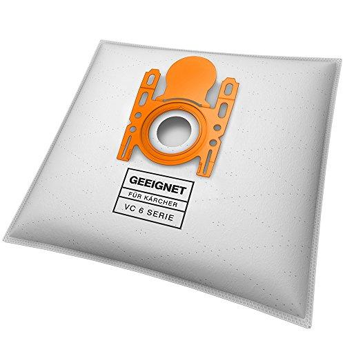 10 Staubsaugerbeutel geeignet für Kärcher VC 6 Premium, VC 6100, VC 6.150, VC 6200, VC 6300, uvm.