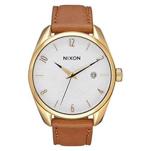 Nixon Damen Analog Quarz Uhr mit Leder Armband A473-1425-00