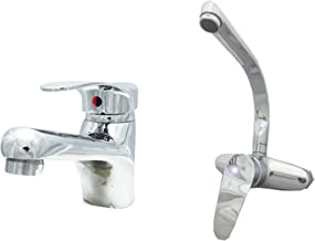 Mixer Set from Clever - 2 Pieces (Basin - Wall Kitchen) Toledo Model
