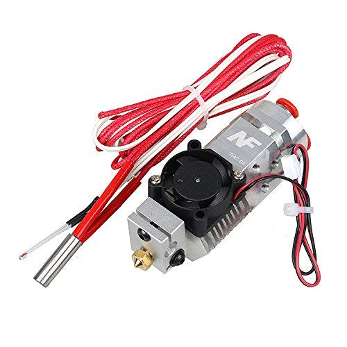 3D Printer 3 in 1 Out Multi-Color Extruder Three Colors Switching Hotend for Titan Extruder and Bulldog Bowden Extruder use 1.75mm