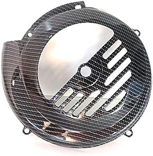 Boita 2.0 Lenkradhülle aus Eisen Vespa 50 90 125 Primavera ET3 Carbon schwarz glänzend