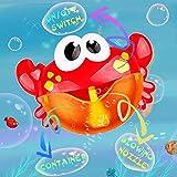 Addmos Badewannenspielzeug, Baby Spielzeug, Seifenblasen Badespielzeug, Spielzeug mit Musik für...