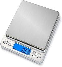Balance Cuisine,0.01g Précision Balances De Bijoux,Rechargeables Balances Alimentaires En Acier Inoxydable Avec Fonction T...