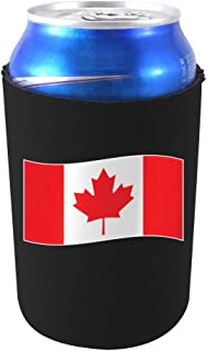 World Countries Flag Neoprene Collapsible Can Coolie (Canada)