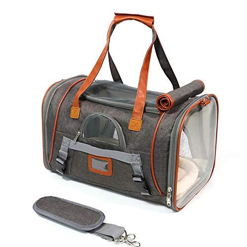 De Pet Out Draagtas kan op de koffer worden geplaatst, en de Oxford doek ademende reistas is geschikt voor honden en katten om een wandeling te maken met uw huisdier.
