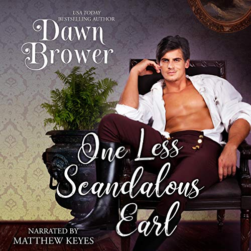 One Less Scandalous Earl audiobook cover art