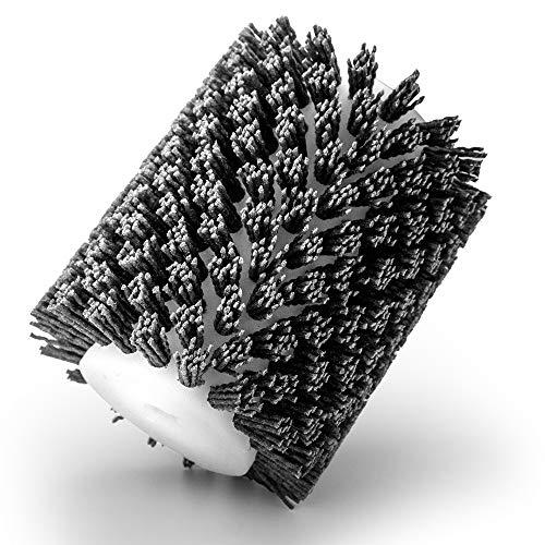 EHRHOLZ Schleifbürste | Strukturierbürste | Satinierbürste | zur Bearbeitung von Holz und Metall | Profiqualität | passend für Makita Bürstenschleifer 9741 (Nylon, Körnung 80)
