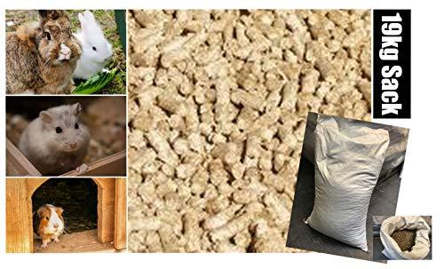 Daydream 19 kg Feelino® 6mm staubarme Einstreu-Pellets für Kleintiere aus Miscanthus - Tierstreu für Nager wie Hamster, Meerschweinchen, Kaninchen etc. - statt Stroh, Hanfeinstreu und Sägespäne