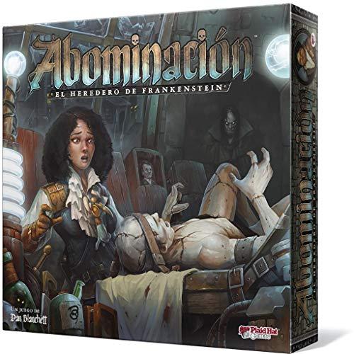 Plaid Hat Games- Abominación: El heredero de Frankenstein, Color (PH3200ES)