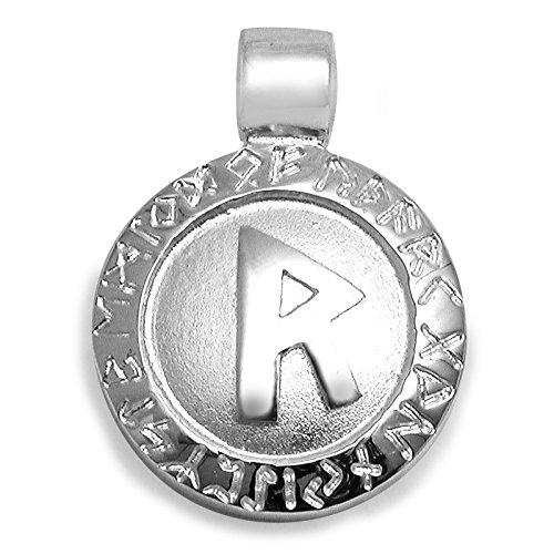 PAA Anhänger Runen Amulett Raido 925 Sterlingsilber