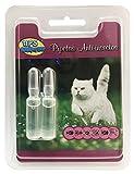 BPS Pipetas Repelentes Material Naturales para Perros Gatos Mascotas Anti Ácaros Pulgas Garrapatas Insectos Voladores Parásitos y Parasital (Pipetas Gato) BPS-4003