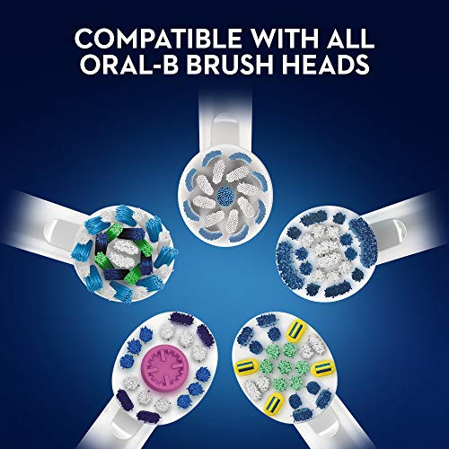 Oral-B Pro 650 Cross Action Electric Toothbrush Rechargeable Powered by Braun, 1 Black Handle, 1 Toothbrush Head, 1 Oral-B Pro-Expert Professional Protection Toothpaste 75 ml