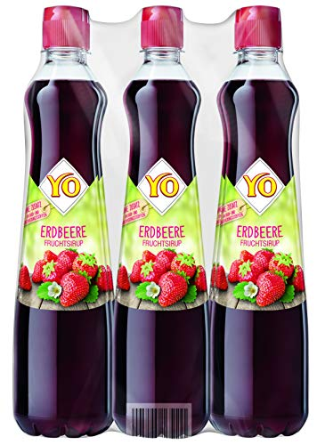 Yo Sirup Erdbeere, 6er Pack, PET (6 x 700 ml)