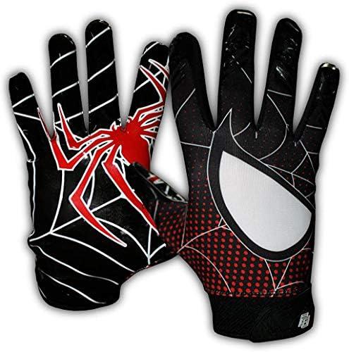 Taqcha Football Gloves Tacky Grip Skin Tight Adult Football Gloves Enhanced Performance Football product image