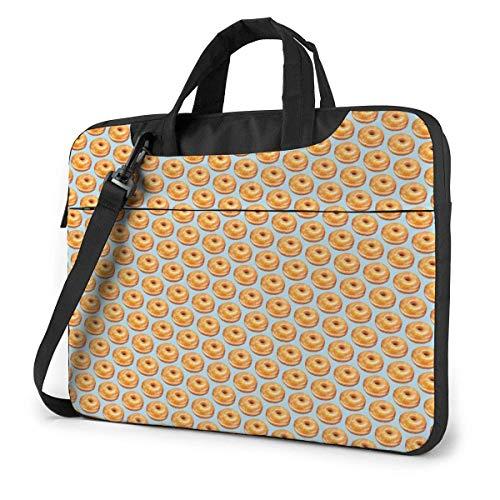 Bagel Food Funny Pattern Laptop Sleeve Case 15,6 Pouces...