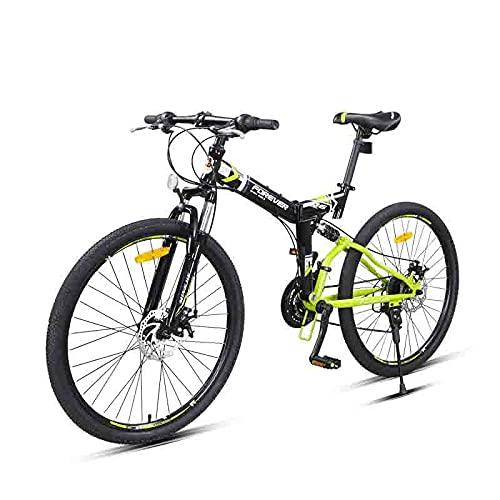 FEIFEImop Den 24-växlade Växellådan är En Vikbar Cykel, Som är Universell För Stadsvikande Cyklar. Det är Väldigt Bekvämt. 24-växlad Växellåda är Oumbärlig För Stadsresor, Mörkgrön