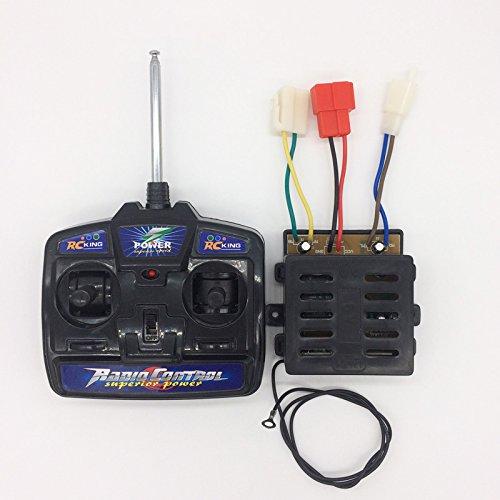 27MHz Fernbedienung und Steuerung für Kinder Elektrofahrzeug, 6V Empfänger Platine Hauptplatine für Elektro Kinderauto Elektrische Spielzeug