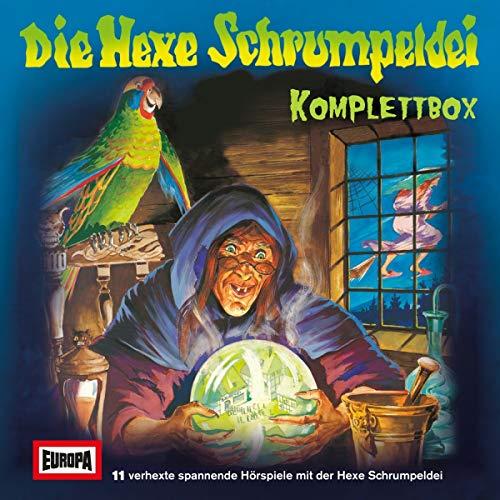 Die Hexe Schrumpeldei Komplettbox