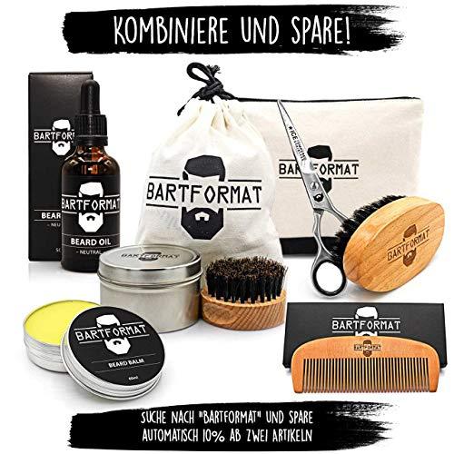 Bartpflege Set WEICHMACHER von BARTFORMAT inkl. Kulturbeutel Abbildung 3