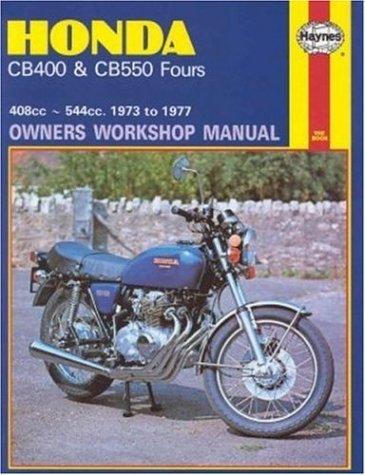 Honda CB400 and CB550, 1973-77 (Owners' Workshop Manual) (Haynes Repair Manuals) by Haynes(1999-01-15)