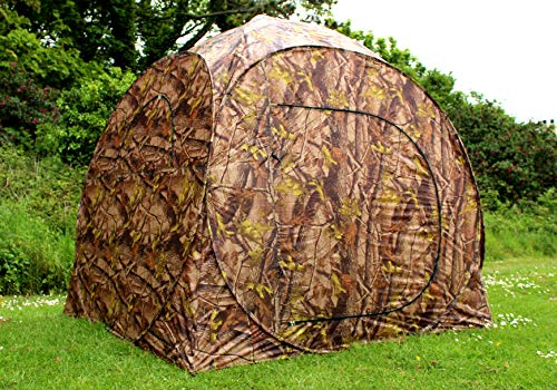 Fullers 2 Man Pop-Up Camouflage Hunting Tent/Hide/Blind - Bird Watching