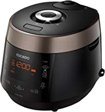 Cuckoo CRP-P1009SB 10 Cup Electric Heating Pressure Cooker & Warmer – 12 Built-in..