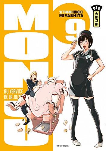 Monju, au service de la justice - Tome 9