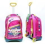 Seven Zaino Trolley Jack Junior Girl Scuola 2013-2014