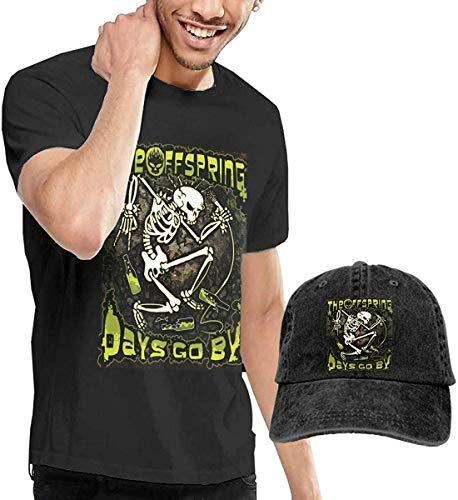 The Offspring Herrenmode T-Shirt und Hut Kombination Schwarz