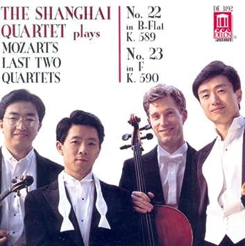 Mozart, W.A.: String Quartets Nos. 22 and 23