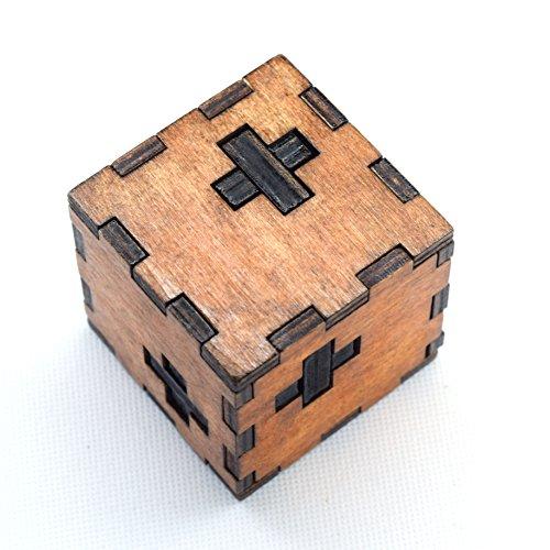 Holzsammlung® Denksportaufgaben aus Holz Gehirnjogging Puzzle Entwirrung Puzzles - #11