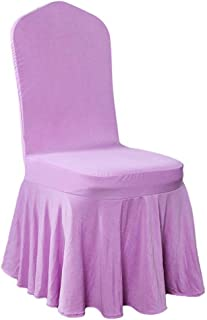 ANOSORA Wedding Chair Case Protector Spandex Stretch Party Hotel Wedding Dining Room Seat Slipcovers