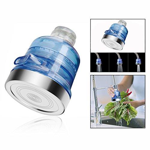 OFKPO Wasserhahn Wasserfilter,Wasserhahn Wasserreiniger für Küche Badezimmer