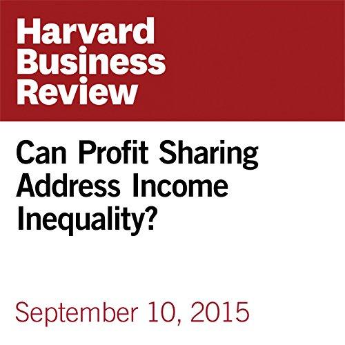 Can Profit Sharing Address Income Inequality? copertina