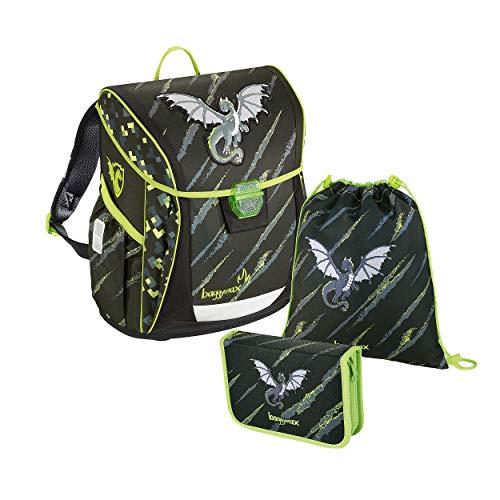 baggymax 139029 Fabby - Mochila Escolar, diseño de dragón