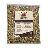 Mélange suprême de grains et de légumes croquants nourriture pour lapins. SeedzBox Rabbit Food, sac de 2.5kg