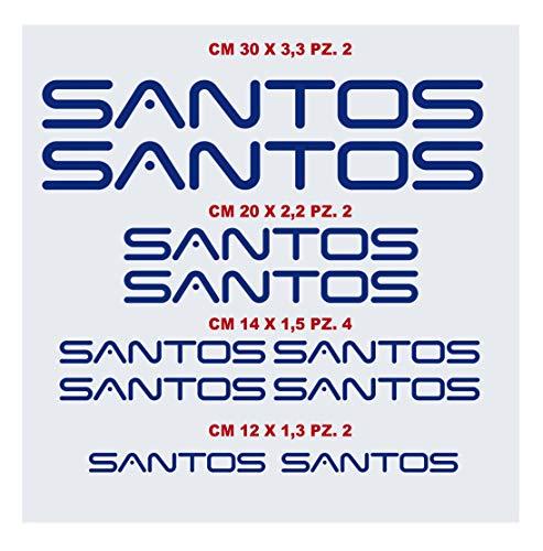 Santos Aufkleber-Set für Fahrrad, kompatibel mit MBK Fahrrad-Aufklebern, Farbe wählbar, Artikelnummer 1430 (049 royalblau)