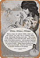 妖精石鹸 メタルポスター壁画ショップ看板ショップ看板表示板金属板ブリキ看板情報防水装飾レストラン日本食料品店カフェ旅行用品誕生日新年クリスマスパーティーギフト