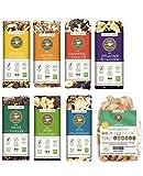 eat Performance® Vegan Box (7x Riegel, 1x Apfelchips) - Bio, Paleo, Vegan, Glutenfrei, Laktosefrei, Ohne Zuckerzusatz, Aus 100% Natürlichen Bio Zutaten