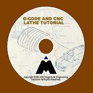 G-CODE CNC MACHINING LATHE SIMULATOR TRAINING CAD CAM CIM DVD USB TUTORIAL GCODE G CODE MASTERCAM SOLIDCAM