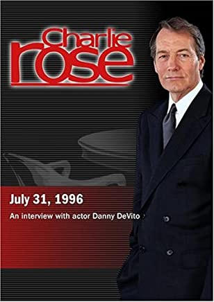 Charlie Rose with Danny DeVito (July 31, 1996)