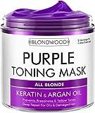 Purple Hair Mask with Retinol & Keratin -...