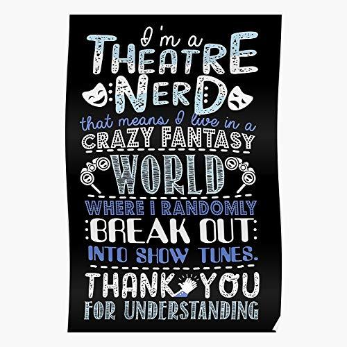 Theatre Hamilton Musical The Opera Broadway Mis Of Broaway Fan Nerd Lover Les Musicals Phantom El mejor y más nuevo póster para la sala de decoración del hogar de arte de pared